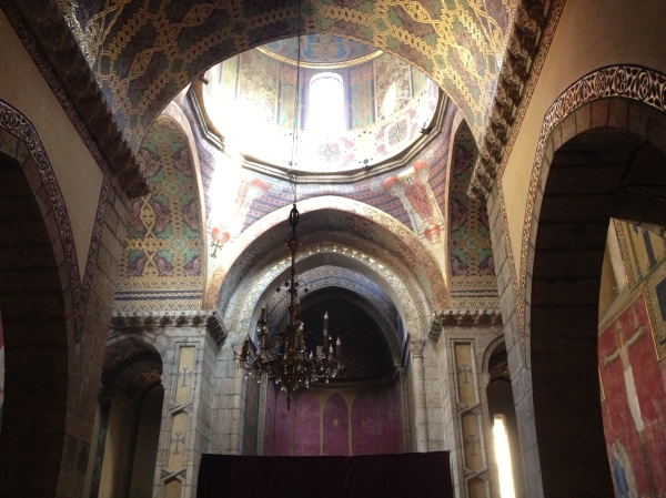 Inside an Armenian church