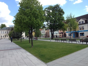 The central pedestrian zone